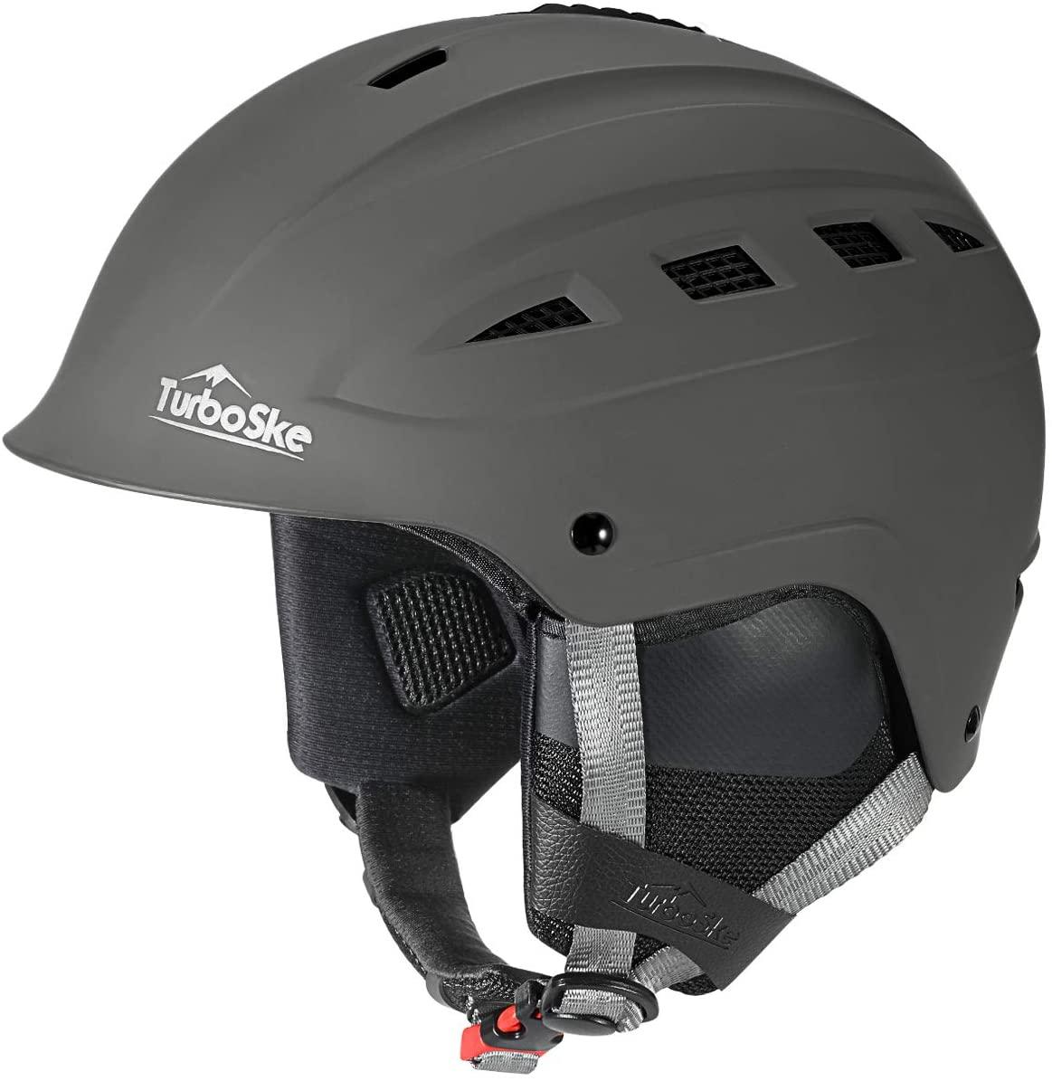 TurboSke Ski Helmet, Snowboard Helmet, Snow Sports Helmet, Audio Compatible for Men Women and Youth