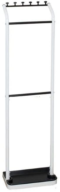 WIN&FACATORY Umbrella Shelf Umbrella Storage Compartment Home Floor Umbrella Stand (Color: White)