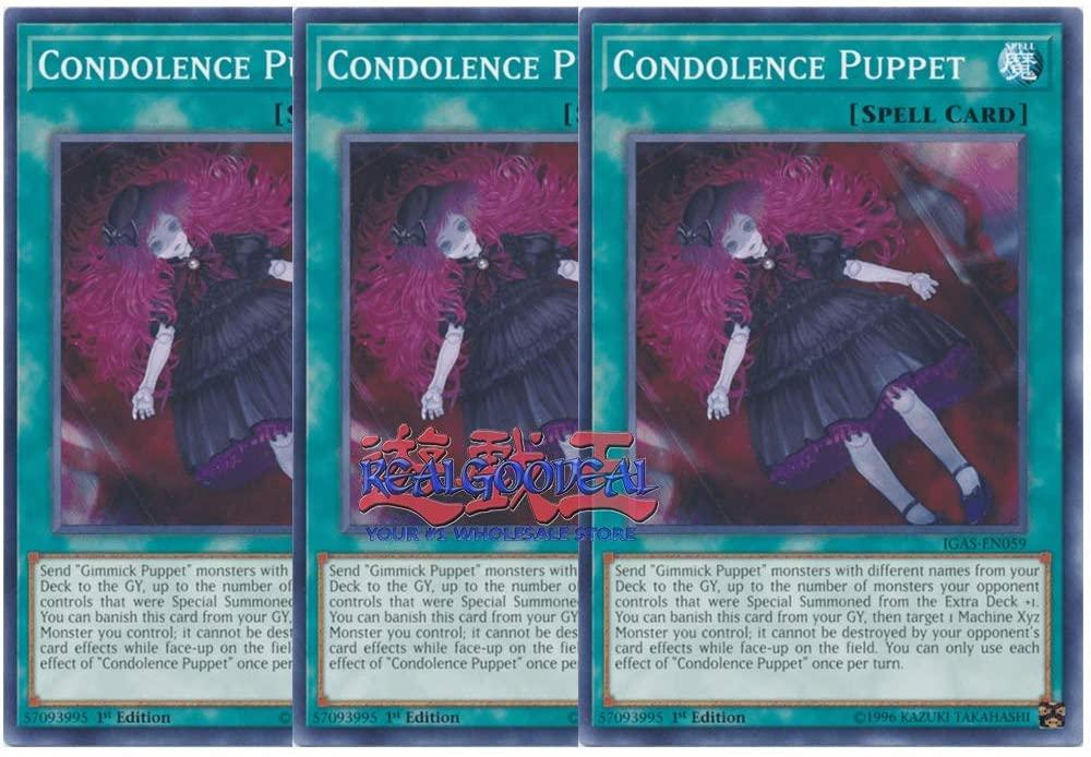 x3 Condolence Puppet IGAS-EN059 Common 1st