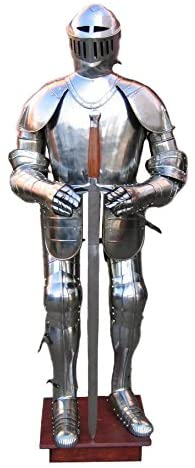 Great Gift Collections VINTAGE WEARABLE KNIGHT CRUSADOR FULL ARMOR SUIT ARMOR COSTUME