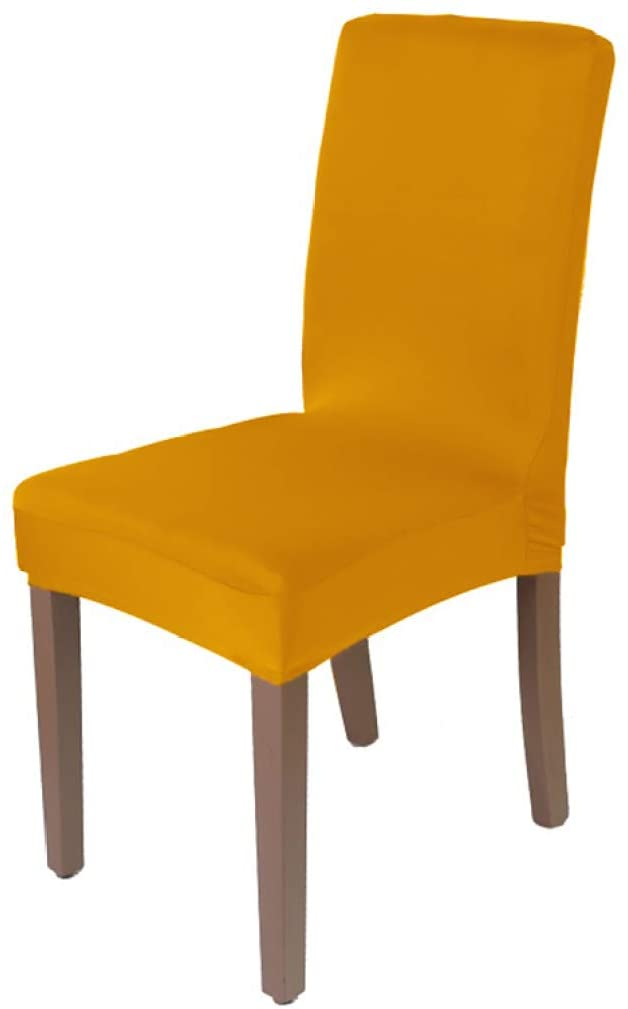 BEOTARU Plain Dyed Chair Cover Spandex Stretch Seat Covers Restaurant Hotel Banquet Home Chairs Slipcover
