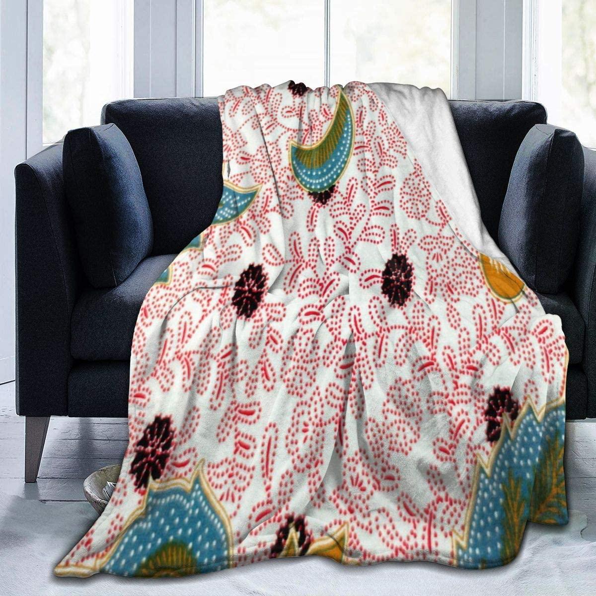 Micro Fleece Plush Soft Baby Blanket Paisley Old Beautiful Batik Fluffy Warm Toddler Bed/Crib Blanket Lightweight Flannel Daycare Nap Kids Sleeping Tummy Time Throw Blanket Girls Boy Kid/Baby