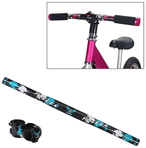 Road Bike Handlebar Carbon Fiber Children Balance Bike Handlebar, Size: 580mm (Pink)