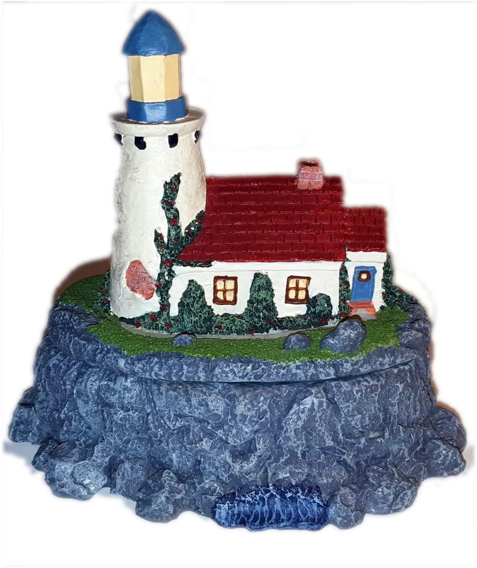 Figi 1994 Graphics Lighthouse Trinket Box - No. BX-SE-101