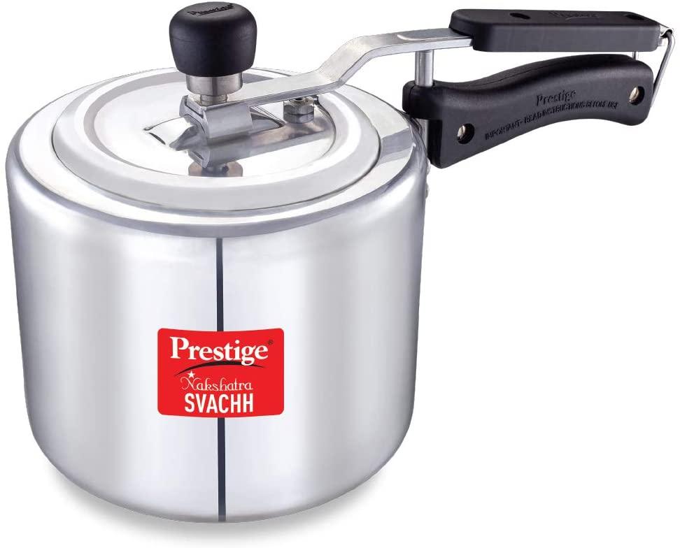 Prestige Nakshatra Plus Svachh 3 Litre Aluminium Straight Wall Inner Lid Pressure Cooker