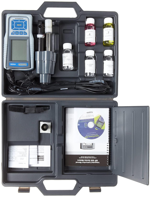 Oakton Waterproof PCD 650 pH/Conductivity/Dissolved Oxygen Meter Kit