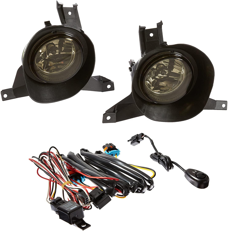 Spec-D Tuning LF-EPOR02GOEM-APC Ford Explorer Sport Explorer Sport Trac Smoked Fog Lights Lamps