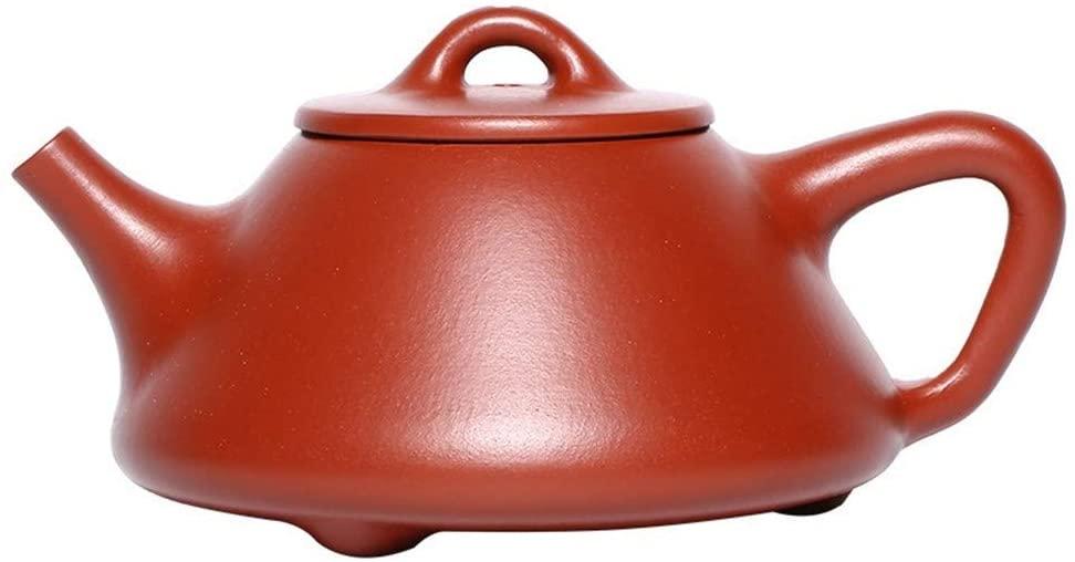 Bin Zhang Big Red teapot small-capacity sub-rule of stone scoop pot of household teapot (Color : Dahongpaozi stone scoop)