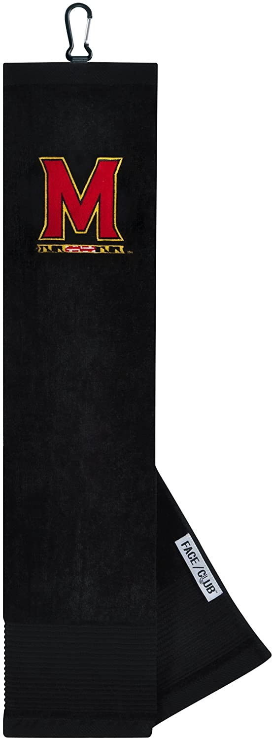 Maryland Terrapins Face/Club Embroidered Towel
