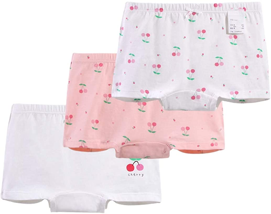 Girl Soft Panty Bundle Briefs Knickers Floral Underwear Pack of 3