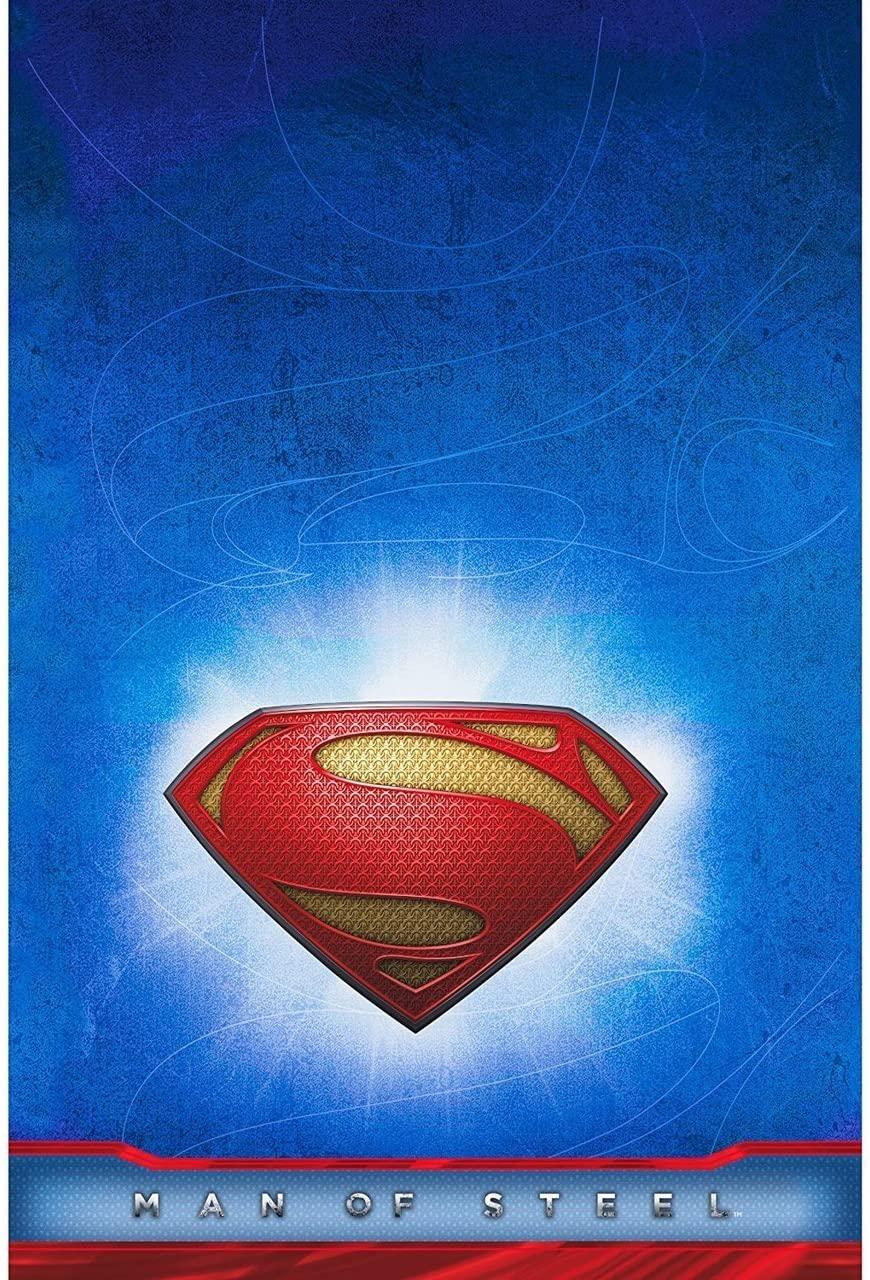 Hallmark Superman Man of Steel Table Cover