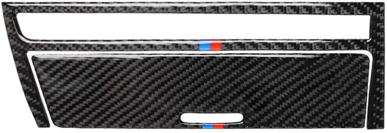 HXD Carbon Fiber Frame Trim Cover Cap Case for BMW 3 Series 4th E46 M3 320i 325i 323i 328i 330i 335i 340i M3 1998-2006 (Ashtray Cover, M)