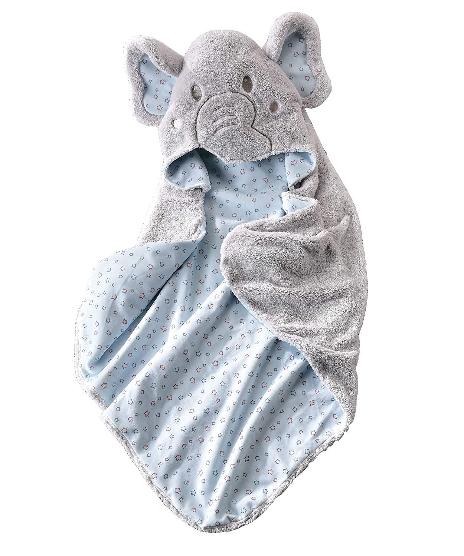 Giftcraft Li'l Elephant Character Design Hooded Bath Towel