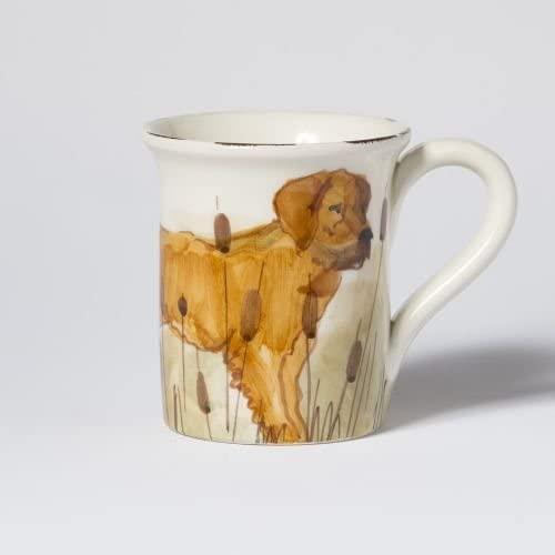 Vietri Wildlife Hunting Dog Mug