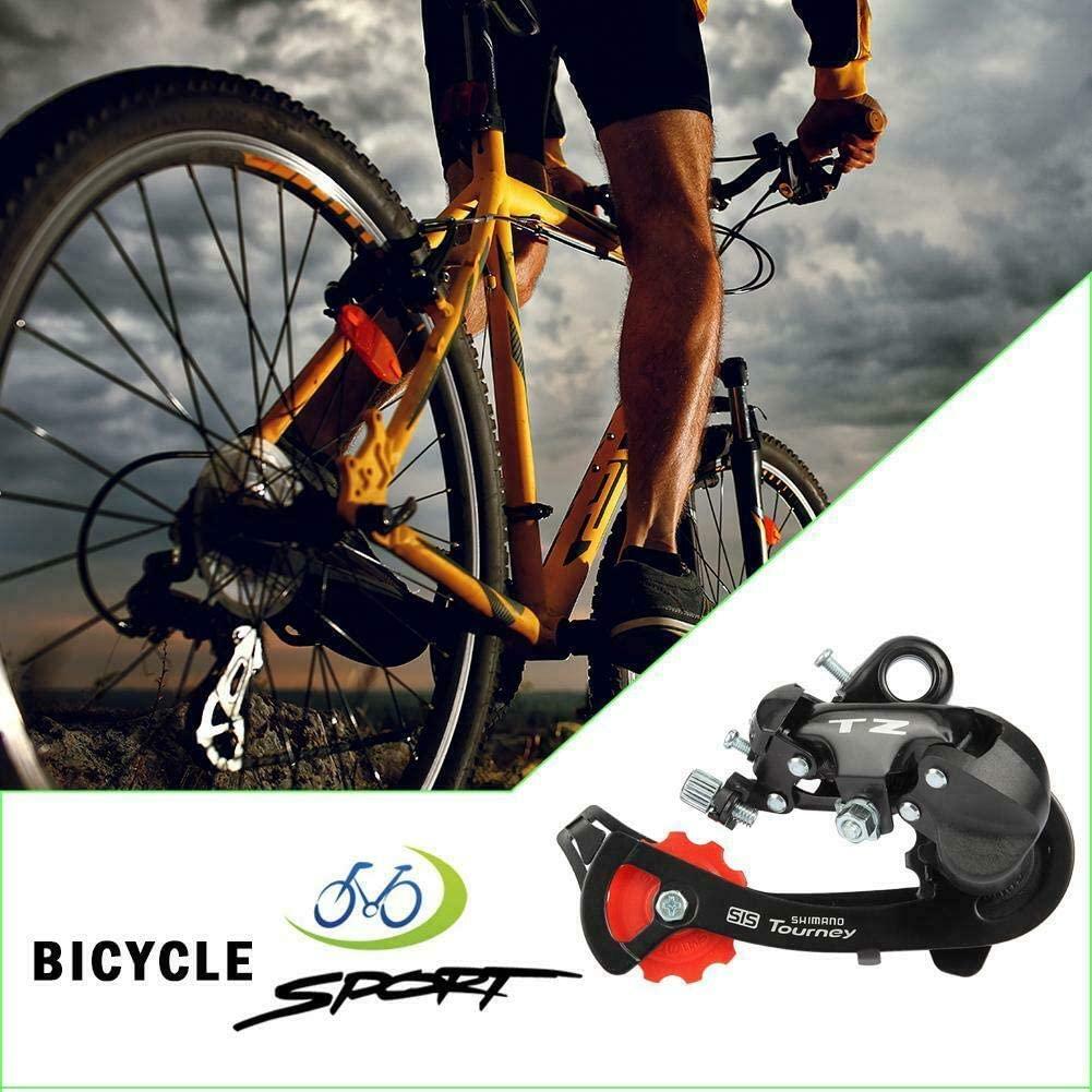 Bike Mountain Aluminum Alloy 6 7 Speed TZ50 Rear Derailleur Bicycle Parts