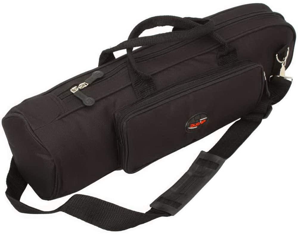 Tidyard Trumpet Gig Bag, Slap-up Carrying Case, Senior Trumpet Bag Black