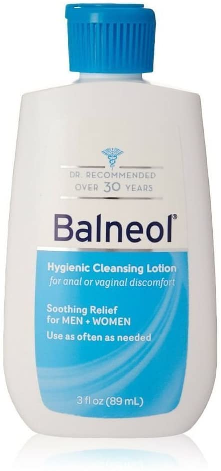 Balneol Hygienic Cleansing Lotion 3 oz (Pack of 10)