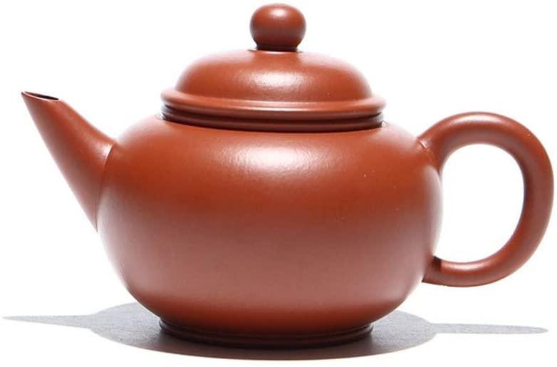QinMei Zhou Teapot ore Zhuni 170ml effort level home tea teapot (Color : Natural)