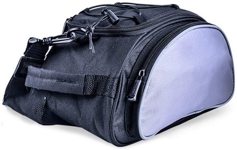 SqSYqz Rear Seat Bag Mountain Bike Rear Shelf Bag Tail Bag Shoulder Bag Cycling Equipment Unique Shoulder Bag