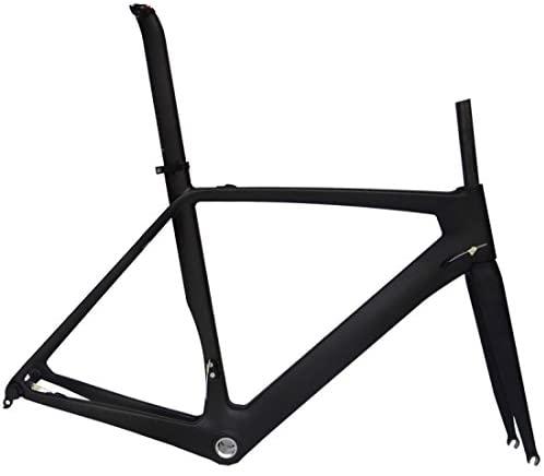 Full Carbon Matt 700c Road Bike Cycling BB30 Frame Fork Seatpost Clamp 54cm