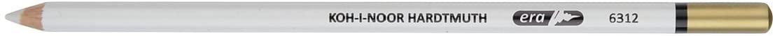 Koh-I-Noor Soft Eraser Pencil, White
