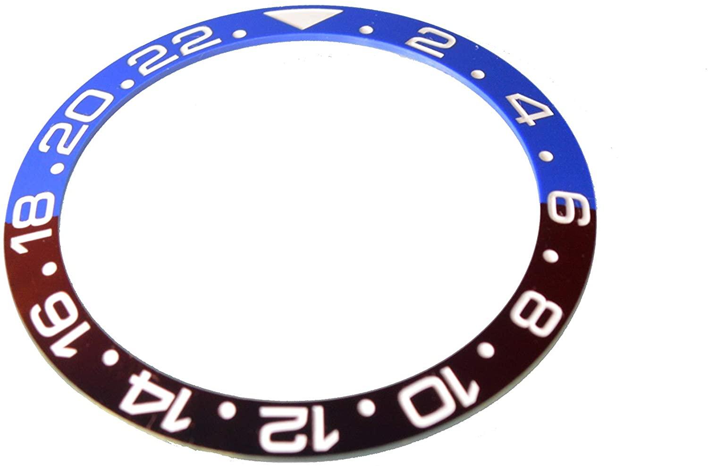 New Bezel Ceramic Insert fit Rolex 40MM GMT Master I/II & Submariner Watch