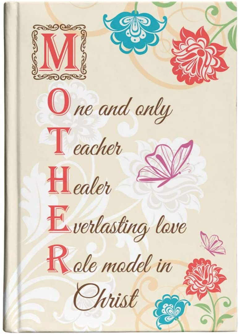 Inspirational Mother Acronym Journal for Moms, 6 1/4 Inch