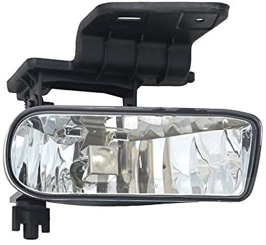 Rareelectrical NEW RIGHT FOG LIGHT COMPATIBLE WITH CHEVROLET SUBURBAN 1500 2500 2000-06 10368477 GM2593113