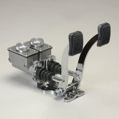 Basic Pedal Assembly Without Throttle Short Rectangular Reservoirs 3/4 Brake 5/8 Clutch Dune Bug Buggy Sandrail Atv Baja Bug Trike