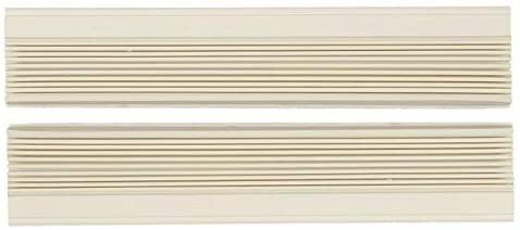 Just4Repair 1 Pair Window Air Conditioner Side Curtains Screen Accordion L&R (Haier AC-6100-73)