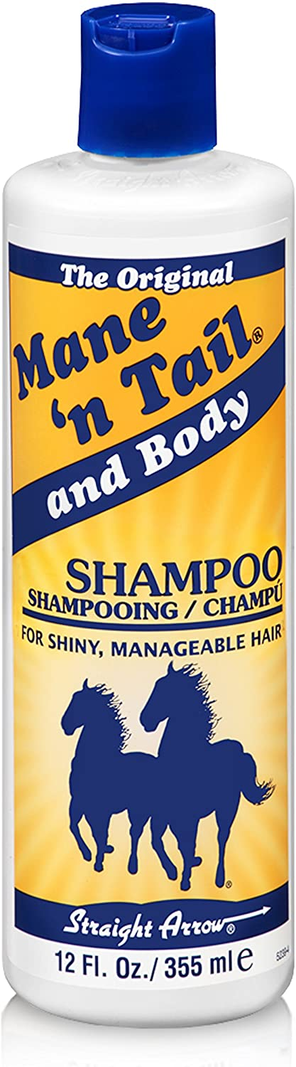 Mane 'n Tail & Body Shampoo for Shiny & MANAGEABLE Hair 12 oz
