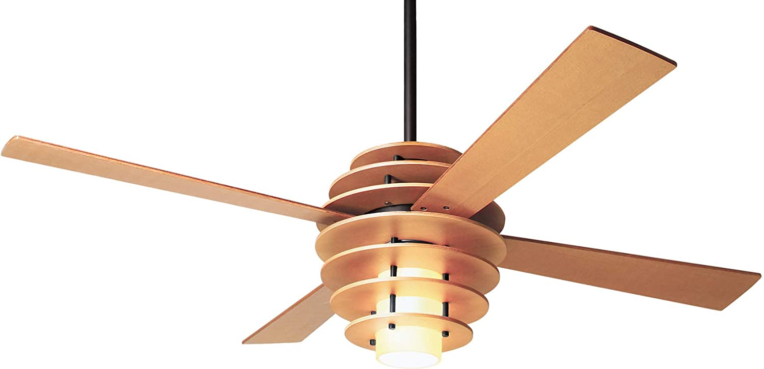 Modern Fan Co SLA-MP-52-MP-LED-003 Contemporary Modern 52``Ceiling Fan from Stella Collection in Bronze/Dark Finish,