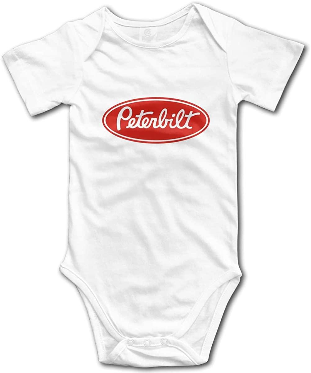 AP.Room Peterbilt Truck Small Child Unisex Cotton Baby Underwear Short Sleeve