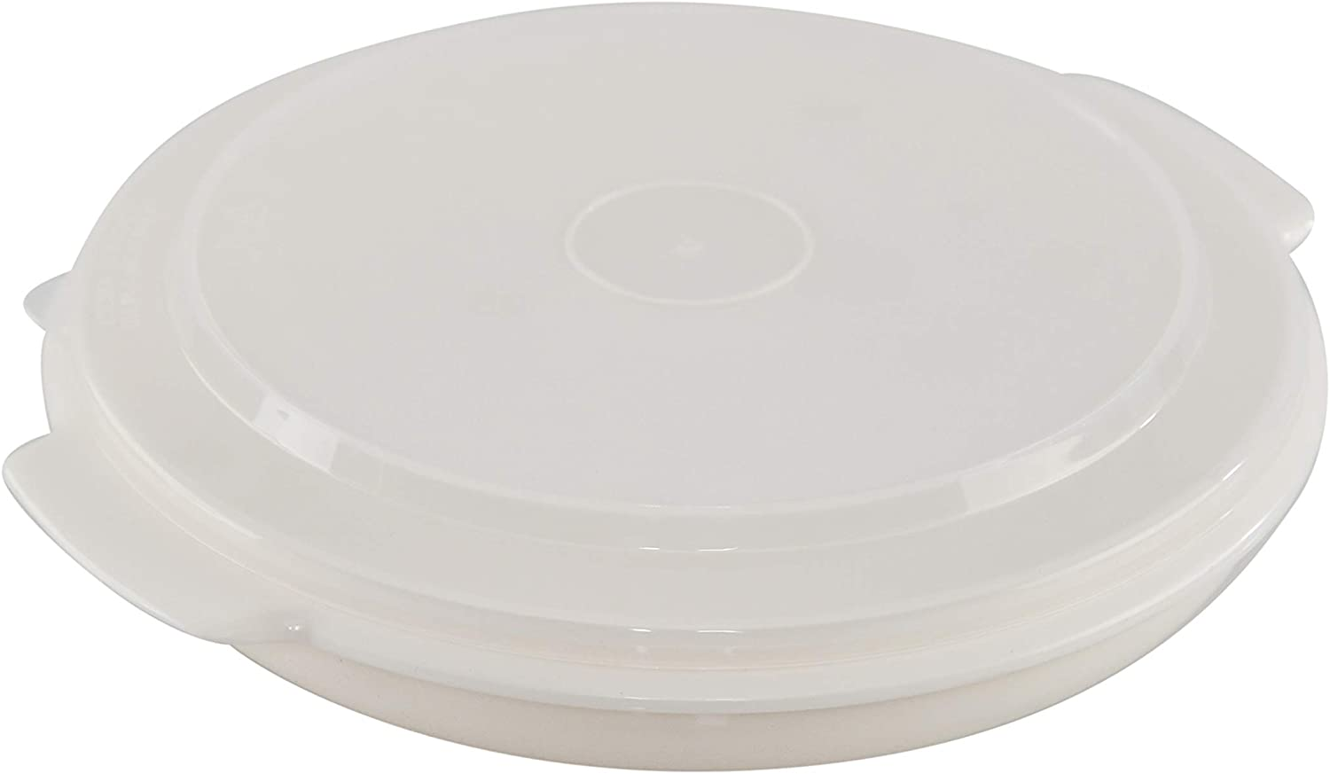 HOME-X Microwavable Multi-Function Plastic Dish with Lid