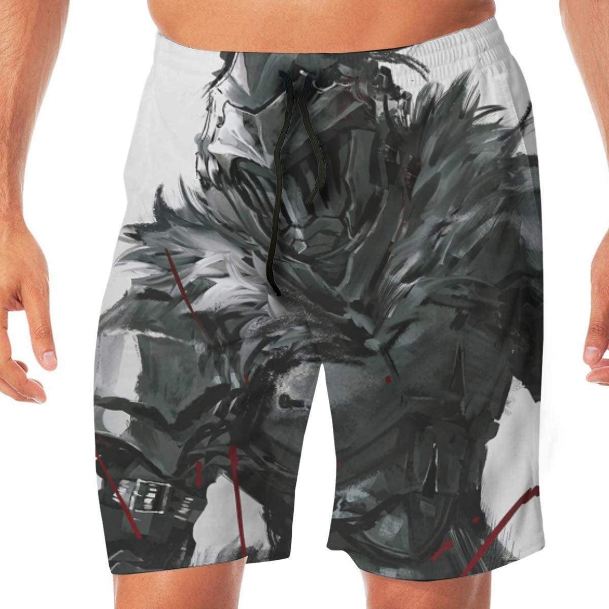 Teenager Boys Beachwear Goblin Slayer Beach Shorts Pants Board Shorts