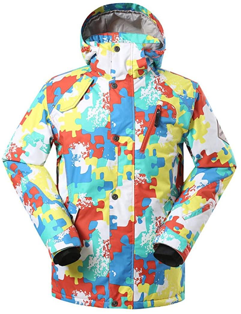 Ski Suit Outdoor Waterproof Windproof Warm Ski Jacket Double Board Single Board Breathable Ski Wear for Men