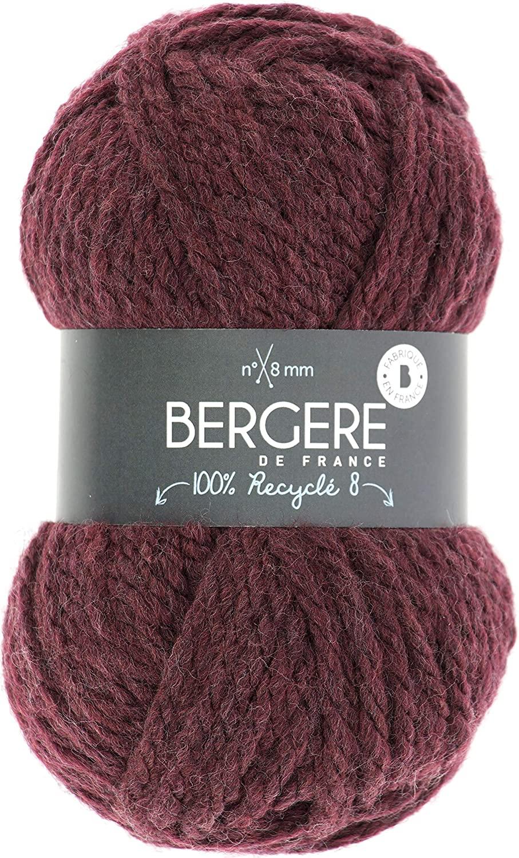 BERGERE DE FRANCE (3PL) YARN RECYCLE 8 AUBURN