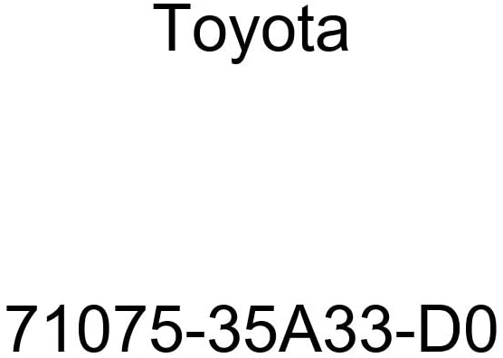 TOYOTA Genuine 71075-35A33-D0 Seat Cushion Cover