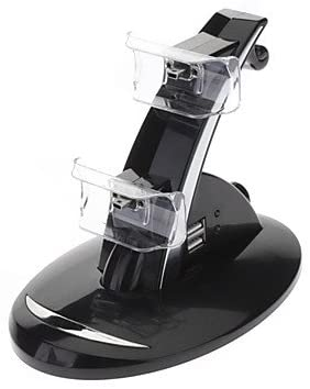 NEW-Dual USB Charging Stand for PS3 Controller