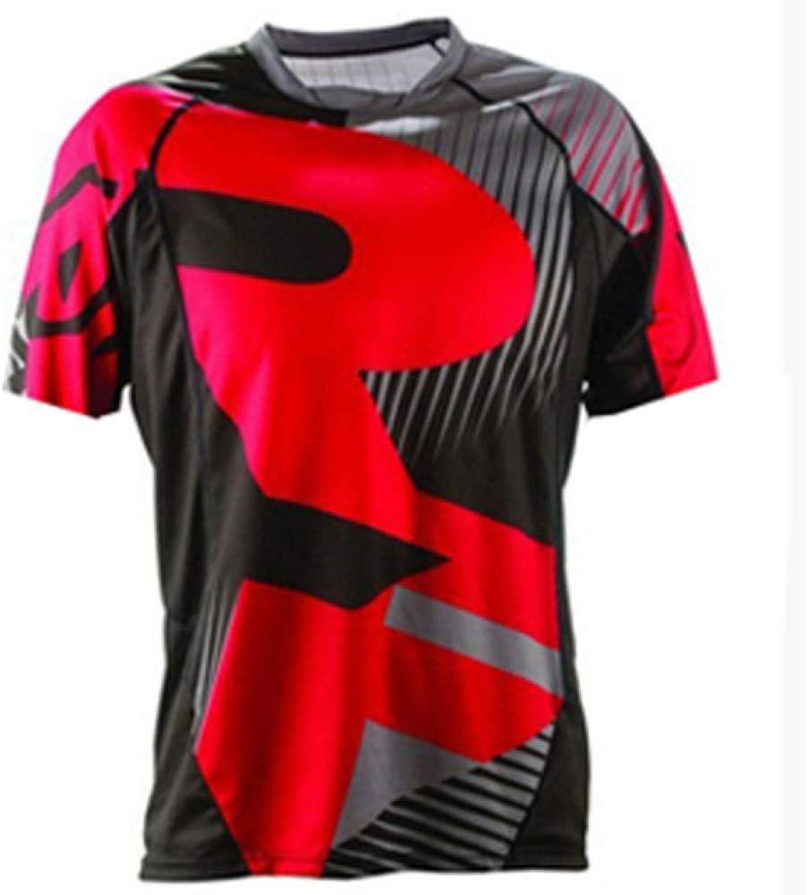 Bayue MTB Jersey Motocross Moto Jersey Mountain Bike Motocross MX Jersey DH Short MTB T Shirt Moto Clothing Zhaozb (Color : 11, Size : XXL)