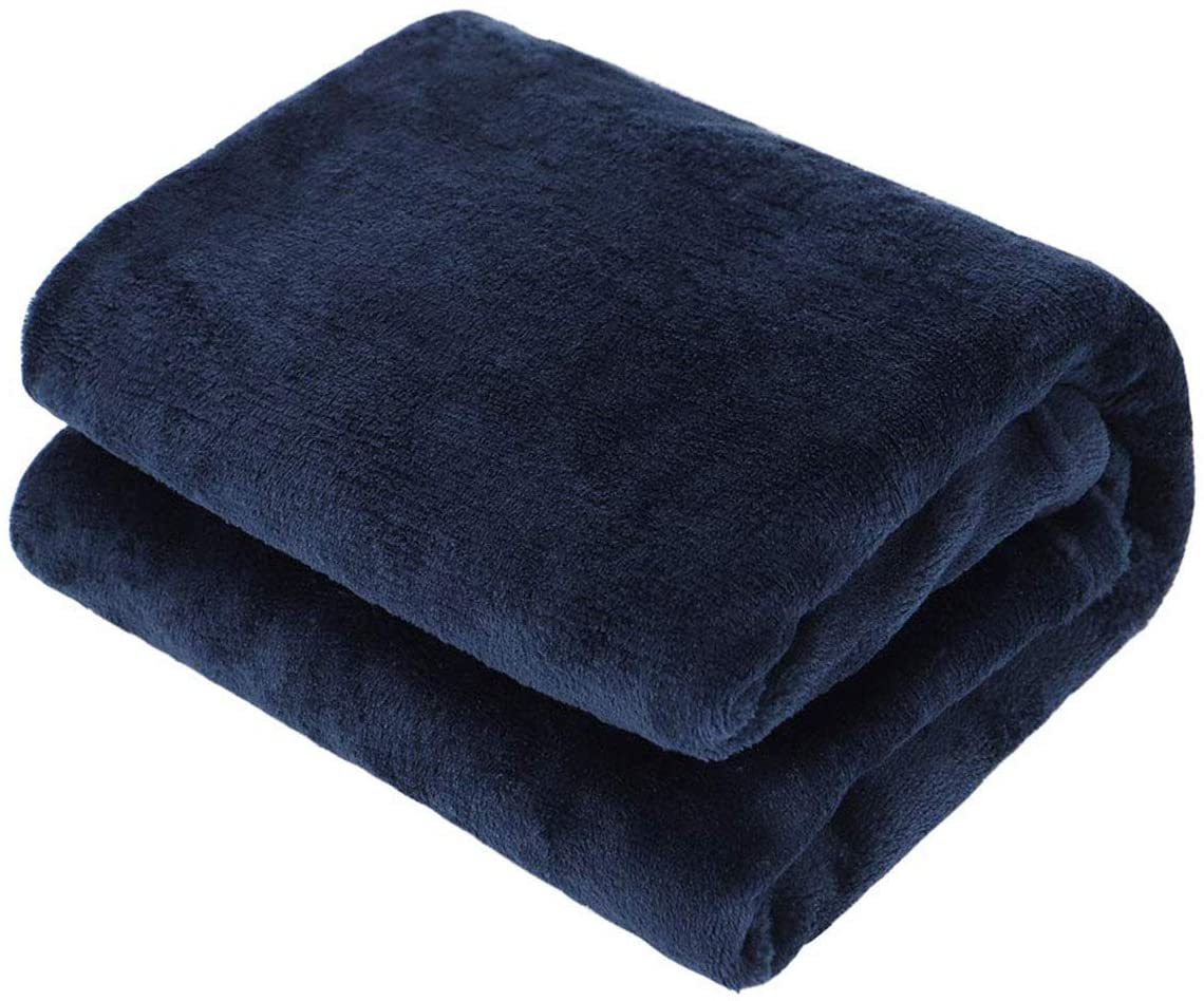 Super Soft Fuzzy Flannel Blanket or Fluffy Fleece Blankets for Baby Girl Boy, Warm Cozy Coral Fleece Toddler, Infant or Newborn Receiving Blanket for Crib,Stroller,Travel,Outdoor,Decorative