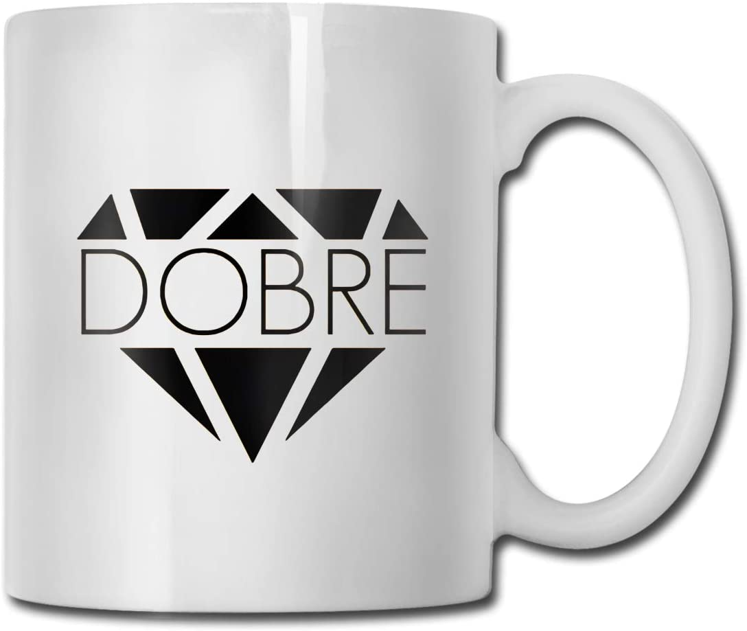Dobre Brothers Interesting Classic Ceramic Coffee Cups, Tea Cups, Mugs, Office and Home