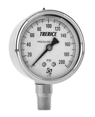 Trerice D83LFSS4002LA110 Industrial Gauge, 4