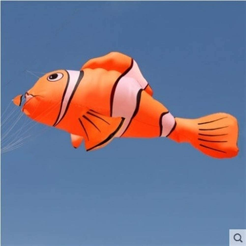 ARONG Interesting Kite, Kids Kite Kites for Kids Easy to Fly with Outdoor Sports Goldfish Suitable for Beach or Park (Color : Yellow)