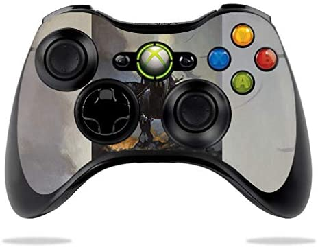 MightySkins Skin Compatible with Microsoft Xbox 360 Controller - Death Dealer | Protective, Durable, and Unique Vinyl Decal wrap Cover | Easy to Apply, Remove, and Change Styles | Made in The USA