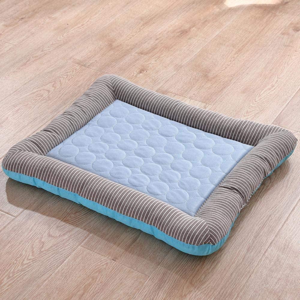 TuoTang Small Dog Kennel pet pad Cushion Summer ice Silk Cushion Apathetic cat mat cat Litter pet Supplies