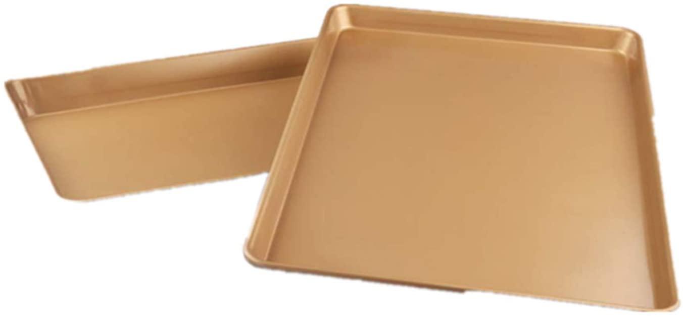 2pc baking pan for golden non-stick cake