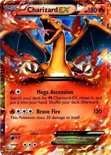 Pokemon XY Card Game Single Holo Promo Card Charizard-EX XY17 by Pokemon Center