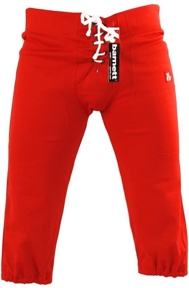 Barnett FP-2 football pants, match red