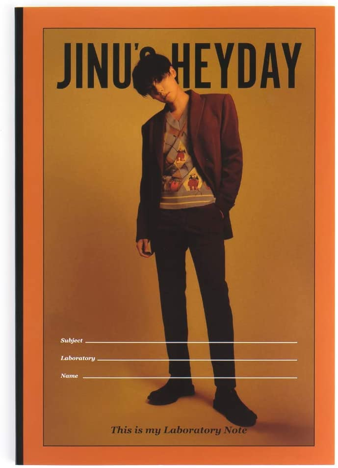 YG Entertainment Idol Goods Fan Products YG Select WINNER JINU HEYDAY NOTE